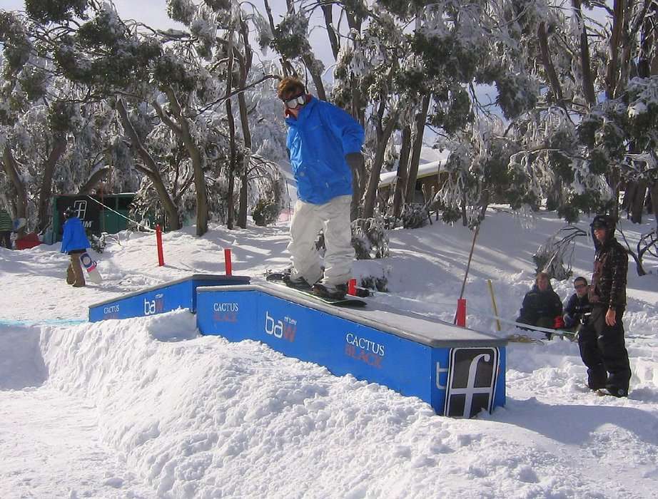 Images from the Rail Jam at Mt Baw Baw (AUS).