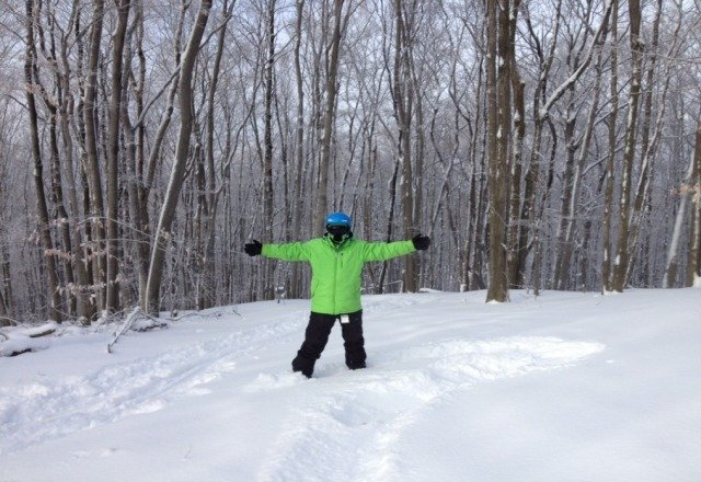 nubs was sweetthis last sat 1/26 i rode powder in yhe tree runs all day!
