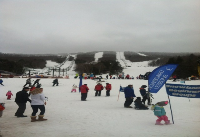 Perfect snow ,no lines .