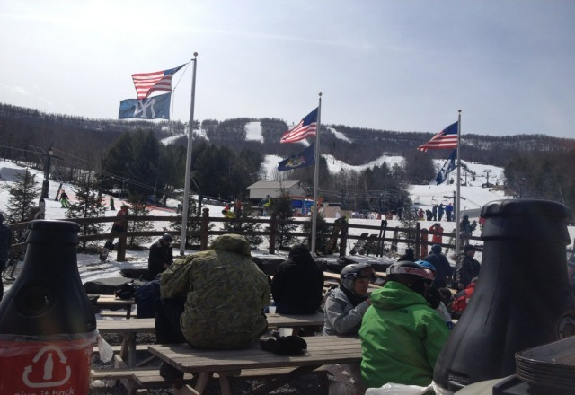 gorgeous day at Windham