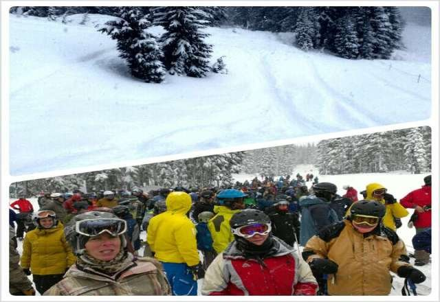 Crazy pow but long lines