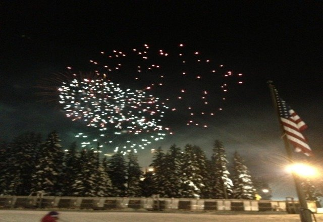 great time last night and the sky cleared up!!! thx @mthoodmeadows !!!  happy new year!