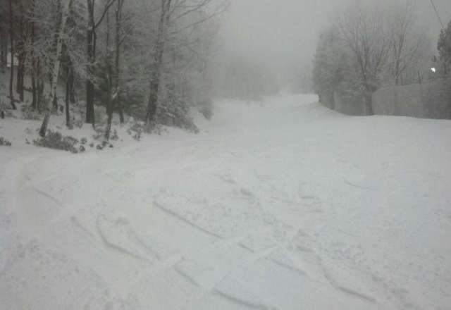 Incredible. Powder day at CBK