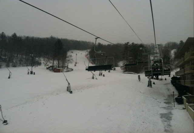 all the runs are open, in good condition, and virtually no wait this afternoon. Very excellent!