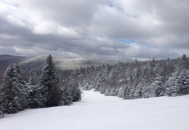 Best snow anywhere in the last few years. Tons of pow, no ice, and lots of sun. Best.