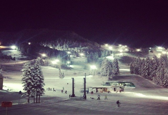 Great fist night ski on Friday.