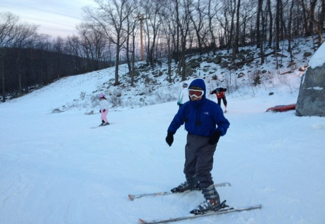 just learning to ski