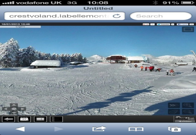 another fantastic day ony the slopes