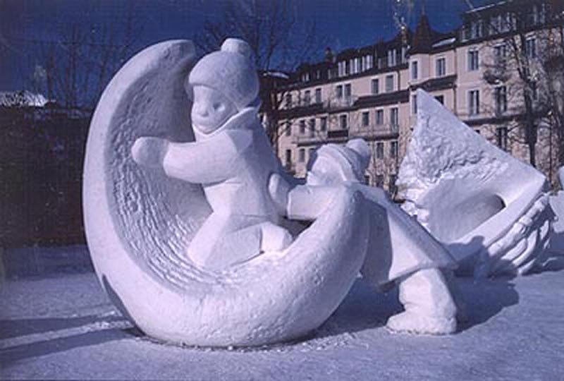 The World Snow Festival in Grindelwald