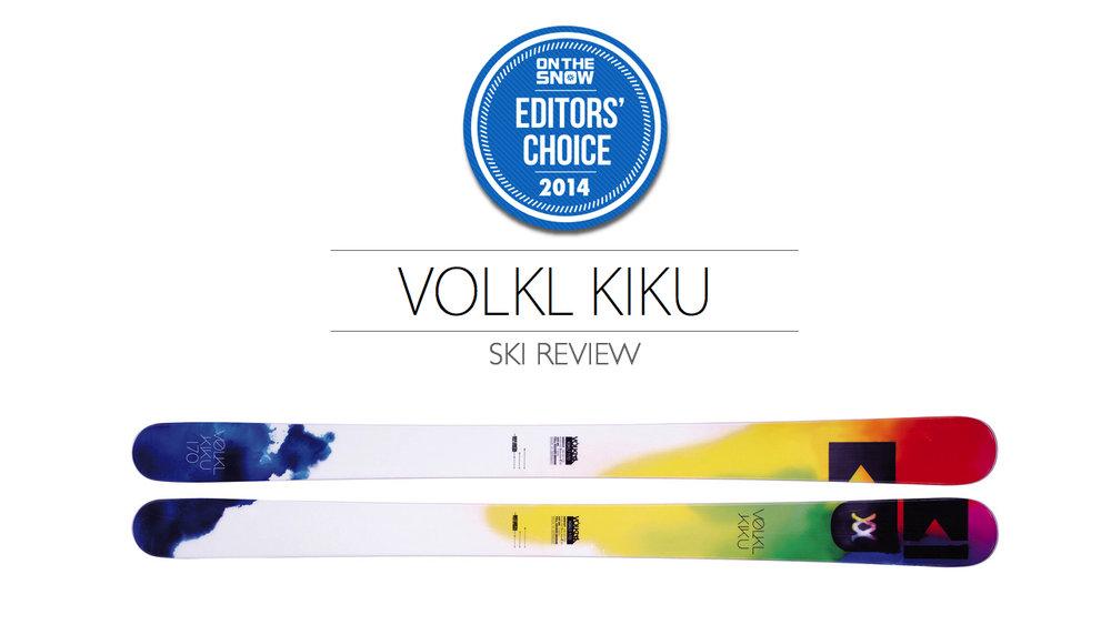 2014 Women Powder Editor Choice Ski: Völkl Kiku