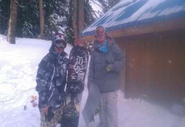 The Boreal Ridge pimps, throwin it down on our last sesh of the 2012/2013 season. Jskillaz & Dr.69 are ready to get shredding, are you? 2013/2014 here we come!!!