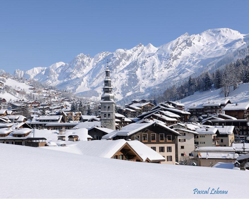 Le Clusaz, France, part of the Lake Annecy Ski Resorts ski region - ©Pascal Lebeau