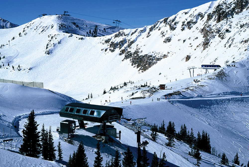 Drop into Alta or Snowbird from either resort with the Alta-Snowbird lift ticket. - ©Courtesy of Snowbird Ski and Summer Resort