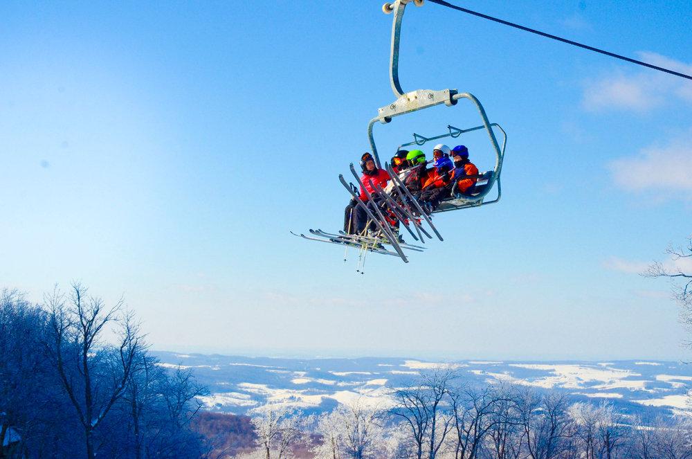 Skiing Seven Springs - ©Seven Springs