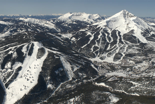 Big Sky Resort now includes Moonlight Basin and Spanish Peaks. - ©Michel Tallichet/Big Sky Resort