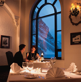 Deer Lodge's Mount Fairview restaurant. - ©The Fairmont