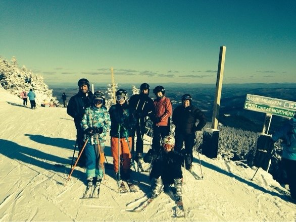 RIVER HILLS SKI CLUB ENJOYING A GREAT DAY AT KILLINGTON!!