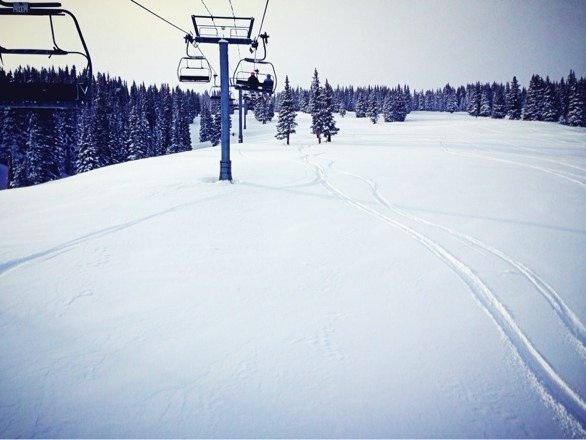 Miles of freshies.