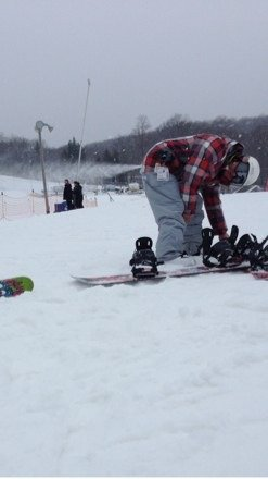 Great day yesterday! Plenty of features at the park and it snowed the last 3 hours we were there.