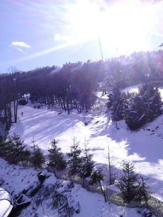Not crowded at all during the week, got a lot of good runs in. Plenty of trails and good snow.
