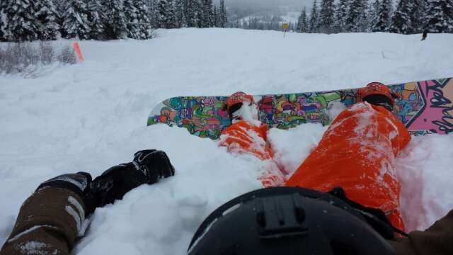 awesome opening day. floating on soft fluffy powder all day.