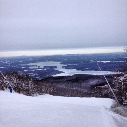 Great day skiing today. Snow was great. Best place to go early season.