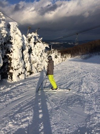It was great conditions for pa skiing!