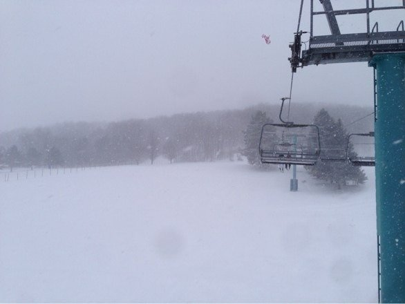 Perf day awesome snow. No ones here though, where is erryone?