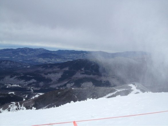 Went yesterday. Summit was open after 1pm. Pretty good. Became icy at the end but overall some good skiing.