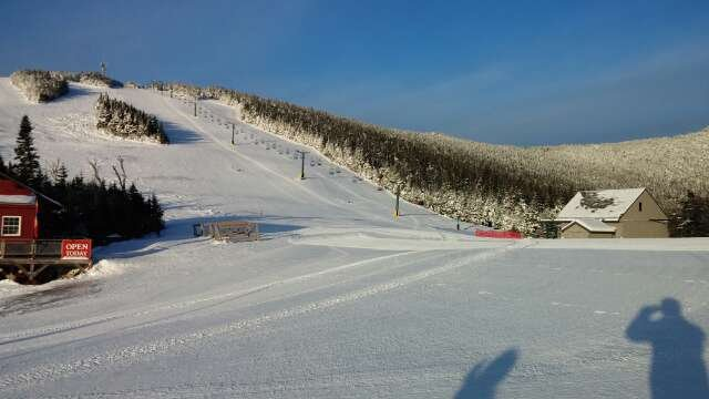 Awesome conditions trails are groomed but still soft even with low temperatures