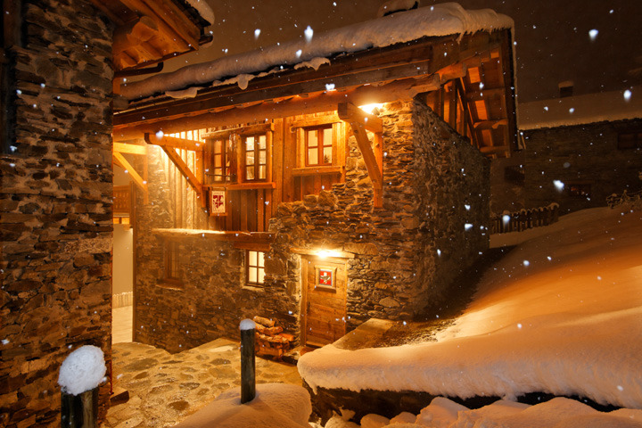 Chalet Merlo outside, Courtesy French Mountain Property