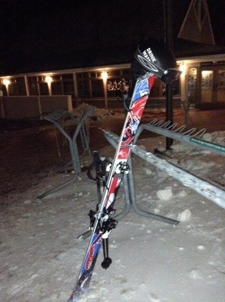 Night sesh was dope. Machine snow was surprisingly soft mostly, plenty of powder around the mountain. Eagles swoop was damn icy tho. Pretty nice park setup too. Also to guy below we did get a freak storm out of nowhere that dropped 2 feet on us last march. We could really use that now!