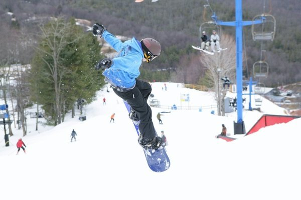 A great day in the Cataloochee park is even better when it's free. - ©Cataloochee Ski Area
