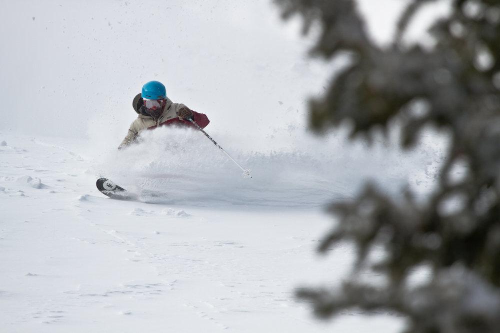 Storm riding Monarch style.  Skier: Ian Borgeson Photo by Liam Doran - © Liam Doran