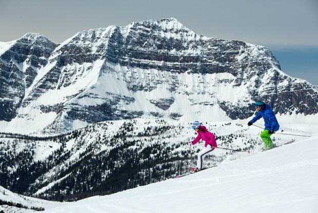 Combining an astounding annual snowfall and a seven month season, Sunshine Village takes winter to another level. - ©Travel Alberta