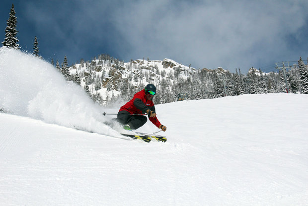 Tommy Moe ripping Jackson Hole