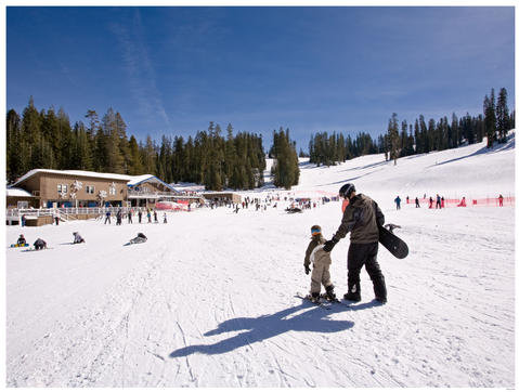 Yosemite's Badger Pass Ski Area offers a great, family-friendly environment for all ages to learn on the slopes.