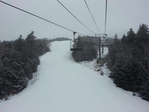 Another fantastic day at Okemo!  They have a great team and the best grooming   in the East.
