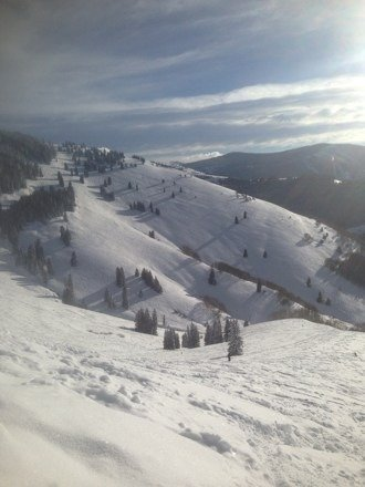Skied Vail Tuesday and Wednesday.  Deep powder and bluebirds make a great trip.  Thks Weedro Wilson.