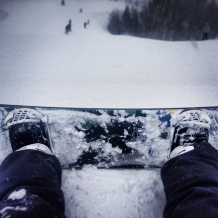 Great conditions, errbody get out there right now.