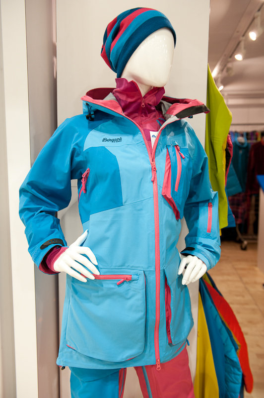 Bergans' new line gets extra colorful for 14/15. - ©Ashleigh Miller Photography