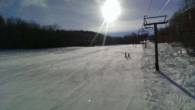 Skied 2/8. Great snow, no lines, iced up a bit on some of the blacks at the end of the day, but overall an awesome day.