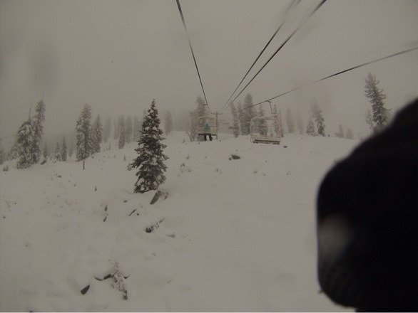 Lots of new snow and the runs are great. The terrain park is great this year with lots to offer. Most runs are covered in packed powder and with colder temps, snow should get better. Expecting to open new terrain by next weekend. China peak is excellent right now. Worth the trip.