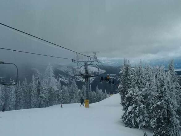 Awesome pow day! 9 new inches today and more on the way!
