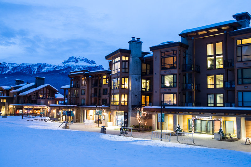 The gorgeous Sutton Place hotel sits right at the base of the Revelstoke gondola. - ©Liam Doran
