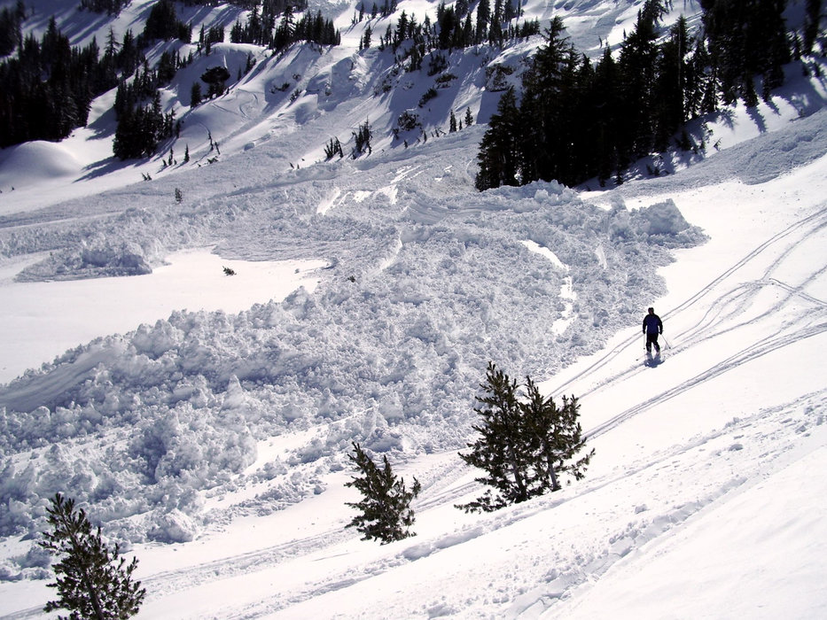 Avalanches can occur inbounds and out-of-bounds at ski resorts.