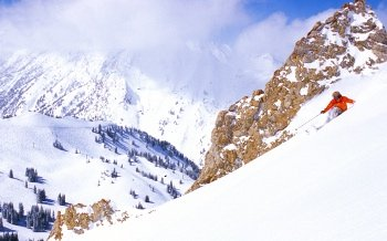 Shredding the steeps at Alta's Performance Ski Camps will take your skiing to higher elevations.