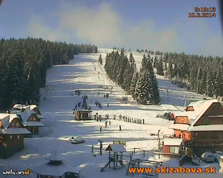 Ski Zábava Hruštín 10.2.2014