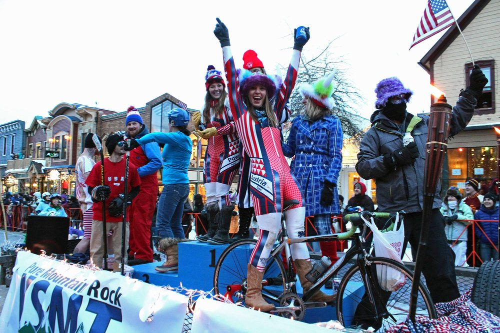 Ullr Fest is celebrated every January in Breckenridge.