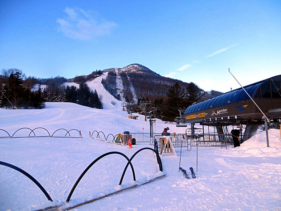 Some of the best days are yet to come at Hunter. - ©Hunter Mountain